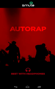 AutoRap by Smule - screenshot thumbnail