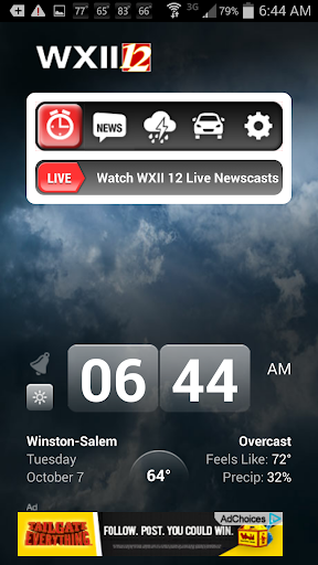 Alarm Clock WXII 12 News