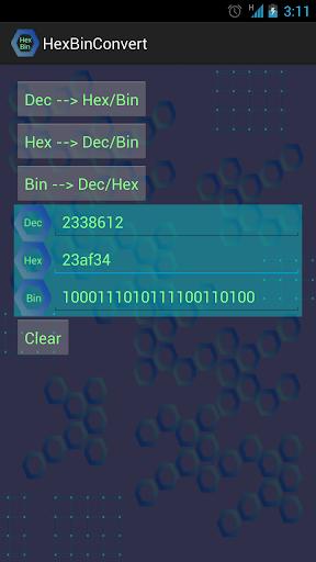 Hex Bin Converter Free