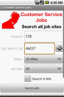 Customer Service Jobs - screenshot thumbnail