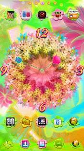 Beautiful Fiesta Clock Widget|玩個人化App免費|玩APPs