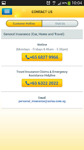 Aviva Singapore Travel- screenshot thumbnail