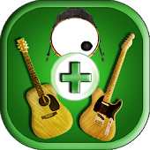 Play Guitar -Guitar with Drum-