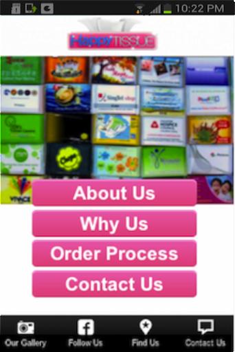 Happy Tissue Mobile App