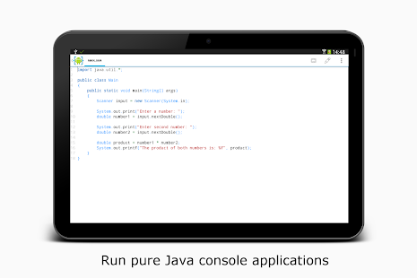 AIDE- IDE for Android Java C++ - screenshot thumbnail