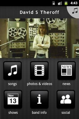 【免費音樂App】David S Theroff-APP點子