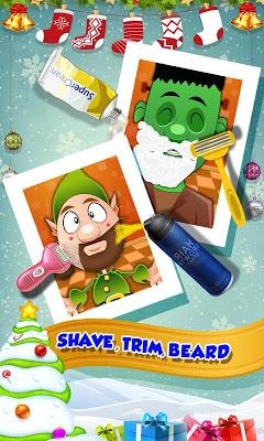 Santa Christmas Shave - screenshot