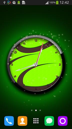Wasabi Clock Live Wallpaper