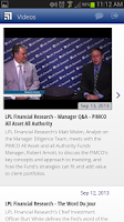 Screenshot of LPL Financial Mobile