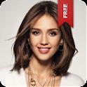 Jessica Alba Live Wallpaper logo