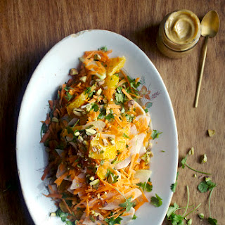 Farmers' Market Salad with Apricot-Cumin Dressing