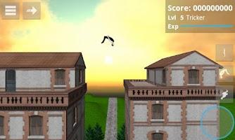 Screenshot of Backflip Madness