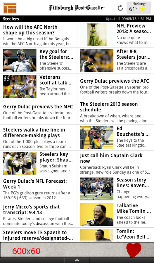 PG Reader by the Post-Gazette - screenshot