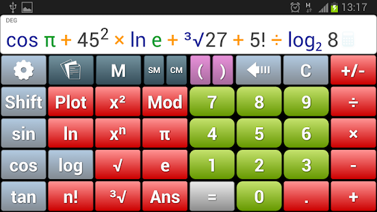 AkbarCalc آلة حاسبة أكبركالك - screenshot thumbnail