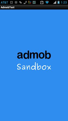 Admob Sandbox