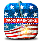 Droid Fireworks 4th July icon