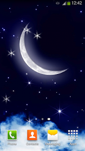 玩免費個人化APP|下載Moonlight Live Wallpaper app不用錢|硬是要APP