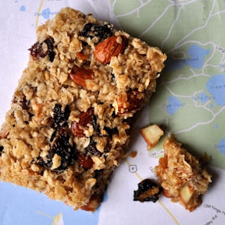 Chewy Trail Mix Bars.