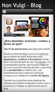 Non Vulgi - Digital Agency- screenshot thumbnail