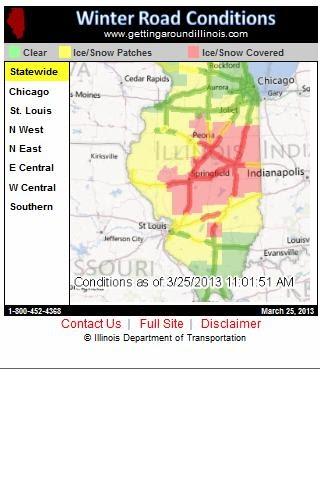 Illinois Road Conditions Map apk share: idot winter road conditions Illinois Road Conditions Map