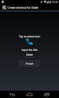 Screenshot of ExDialer Shortcut Plugin