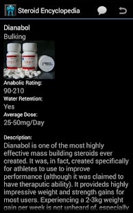 Steroids Encyclopedia screenshot