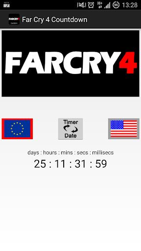 Far Cry 4 Countdown Widget