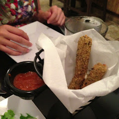 Mozzarella sticks; again, there were more!!