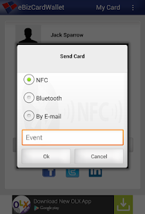 eBizCard Wallet V2.1- screenshot thumbnail