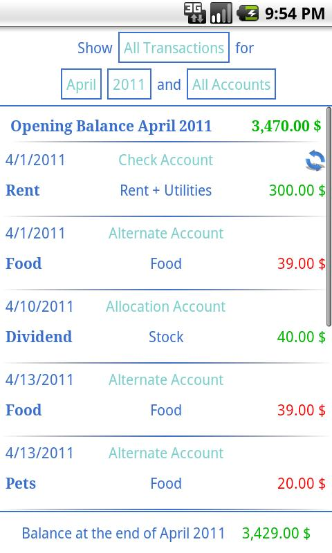 Budgeting - Finance Mastery - screenshot