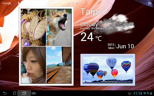 Animated Photo Widget + Screenshot