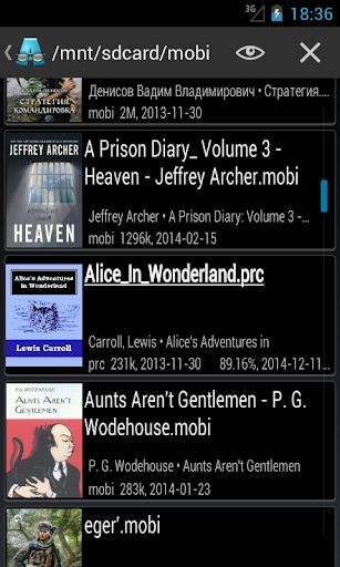 AlReader -any text book reader 1.911805270 screenshots 6