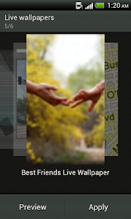 Best friends - wallpaper - screenshot thumbnail
