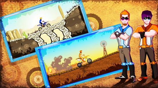 Desert Rage - Bike Racing Game Screenshot 2