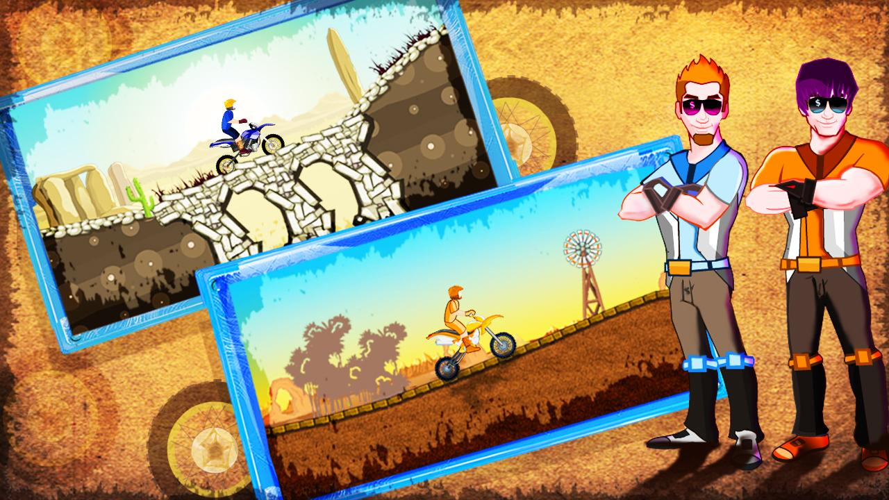 Desert Rage - Bike Racing Game - screenshot