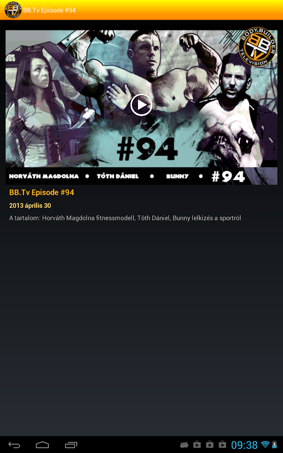 BB.Tv Player- screenshot