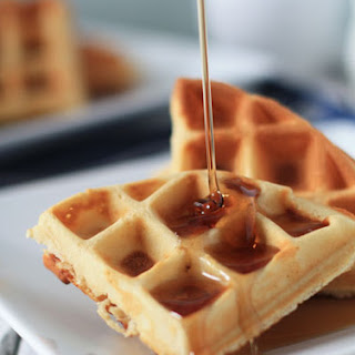Maple Chip Waffles.