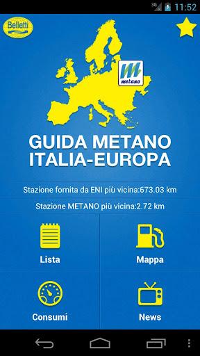 iMetano - Europa