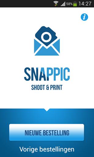 Snappic shoot print
