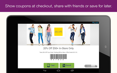 RetailMeNot Coupons, Discounts Screenshot 26