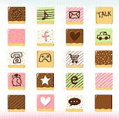CUKI Theme Sweet Pepero Icon
