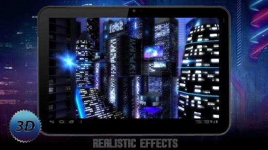玩個人化App|Space City Lite 3D LWP免費|APP試玩