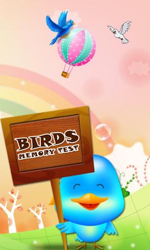 Bird Memory Test