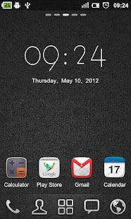 GO Clock Widget - screenshot thumbnail
