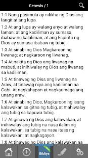 Bibliya Tagalog Bible LIBRE! - náhled