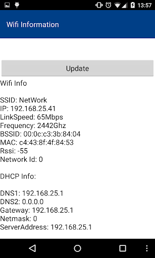 Information Wifi