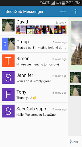 SecuGab Messenger