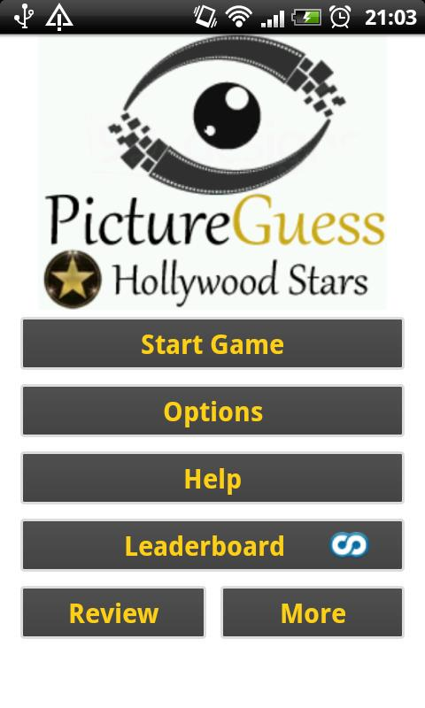 Picture Guess: Hollywood Stars - screenshot