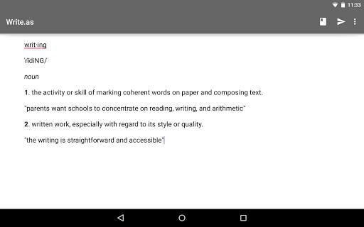 Write.as - blog and journal  screenshots 5