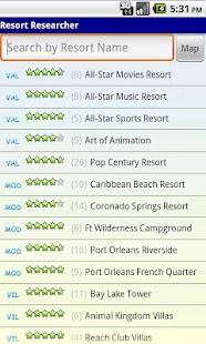 WDW Resort Researcher- screenshot thumbnail